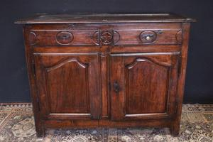 Wooden sideboard from the late 17th century