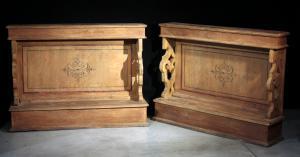 Coppia balaustre laccate, Toscana, Sec.XVIII