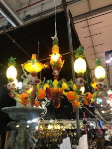 穆拉诺枝形吊灯130x100h水果