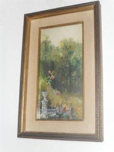 aquarela assinado Sironi
