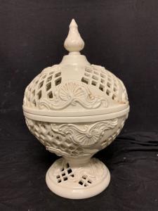 Ancient perforated ceramic cup