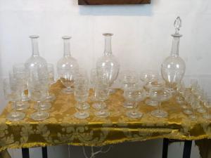 Antico servizio completo cristallo Baccarat primi '900