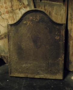 p033 - piastra in ghisa semplice, misura cm l 46 x h 60