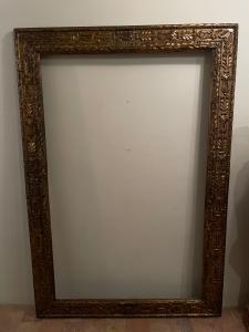 Cornice del XVIII secolo emiliana , cm104 x164 .