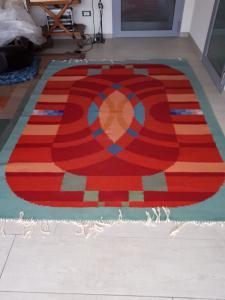 老式的地毯