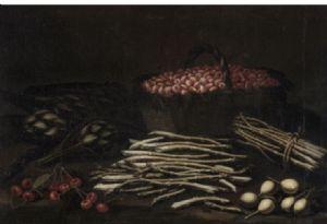 Pintura al óleo sobre lienzo que representa bodegones