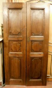 pti611 19世纪橡木门,错。厘米108 x 200