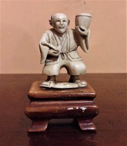 Ivory statuette