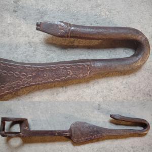 Elemento zoomorfo di carro agricolo Spagna XVIII secolo