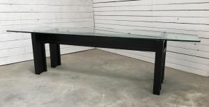 tavolo da pranzo base legno laccato