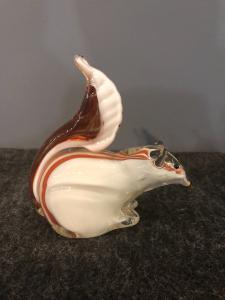 玻璃松鼠Seguso制造Murano。