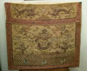Tela china antigua, tela china antigua, arte oriental, arte chino