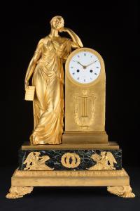 Bronzeuhr Frankreich von Lepaute Et Fils