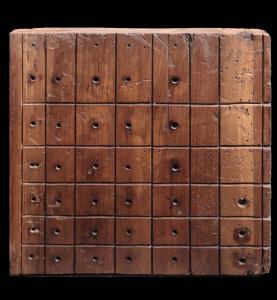 Orgelstimmen-Panel. Toskana, 16. Jahrhundert