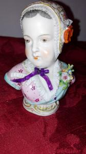 Bustier da porcelana de Capodimonte