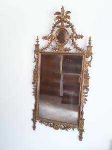Louis vxi espelho dourado estilo final do século XIX cômoda do século XX h144x68 firentina garantia termos da lei