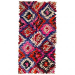 Collectible SILIFCHI polychrome carpet