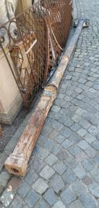columnas de hierro fundido