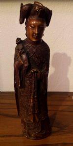 Китайская слоновой кости статуэтка