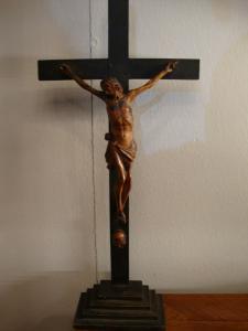 Christus, Holzskulptur, 18. Jahrhundert