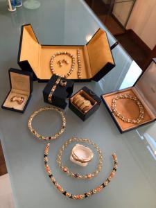 Seleção de joias vintage Bulgari