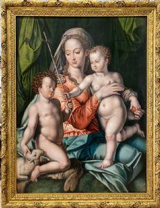 卡罗·波泰利,麦当娜和圣约翰的孩子