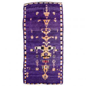 "Unusual MOROCCO carpet with ""chandelier"" design"