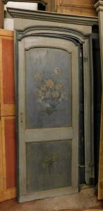 ptl481 lacquered door, ep. '700, mis.with frame h cm 230 x 115 max