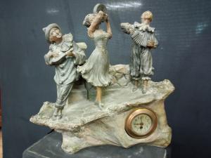 Orologio in terracotta
