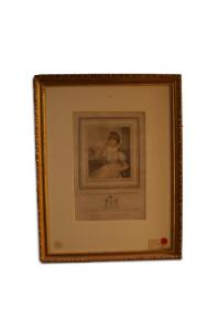 English print of 1700 Lady Charlotte Holwell-Carr