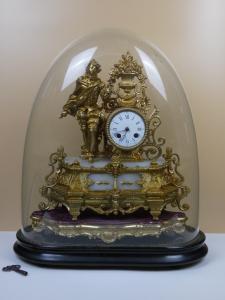 Orologio francese J. Brunfaut fine 800