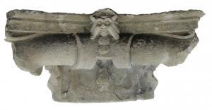 Capital in Sarnico stone
