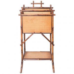 Porta-giornali e riviste in bambù