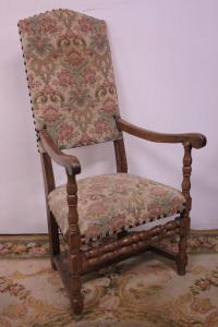 High-backed armchair from the early 1900s