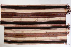 旧制造的柏柏尔地毯