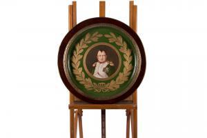 """Piatto In Ceramica Del XIX Secolo """"Napoleone"""""""