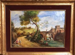 人物风景-威尼斯画派-19世纪初