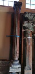 columnas de madera