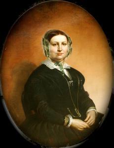 Porträt einer Gentlewoman (1851)