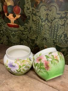 PAIR OF POT HOLDERS, CACHEPOT - THE VICTORY, MONDOVÌ - LIBERTY