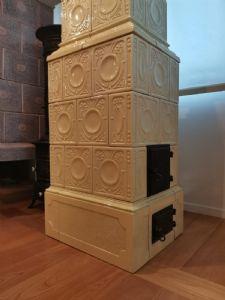 普罗旺斯蓝色古董橱柜/橱柜!早期900餐具室上漆。复古工业。