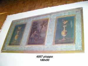 PANEL WITH 3 PAINTINGS