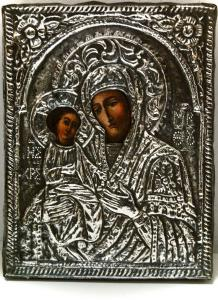 19th century Russian icon.