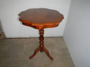tavolino in legno anni 80