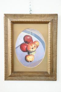 Oil painting on wood signed by Valentino Ghiglia (1903-1960) Florentine artist euro 1500 treatable