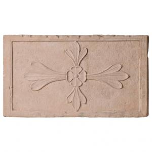Antique Cast Architectural Mogul Stone Panel