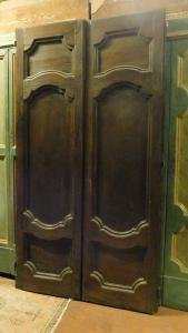 porta de castanha ptci398, med. h cm 226 x largura. 119 cm