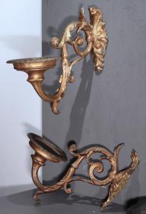 Пара золотых аппликаций, Тоскана, 19 век