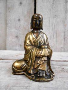 青铜佛像雕塑 -