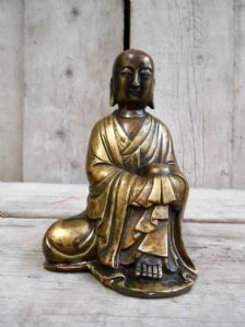 Buddha in bronzo - scultura